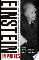 Einstein on Politics Book PDF