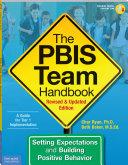 Pdf The PBIS Team Handbook Telecharger
