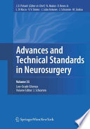 Advances And Technical Standards In Neurosurgery  Vol  35