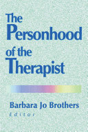 The Personhood of the Therapist Book