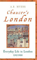 Chaucer's London
