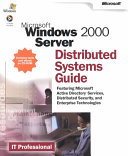 Microsoft Windows 2000 Server Distributed Systems Guide
