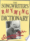 The Songwriter's Rhyming Dictionary