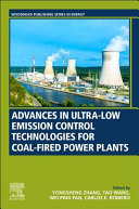 Advances in Ultra Low Emission Control Technologies for Coal Fired Power Plants