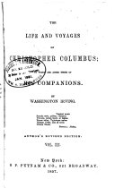 The Works of Washington Irving  The life and voyages of Christopher Columbus