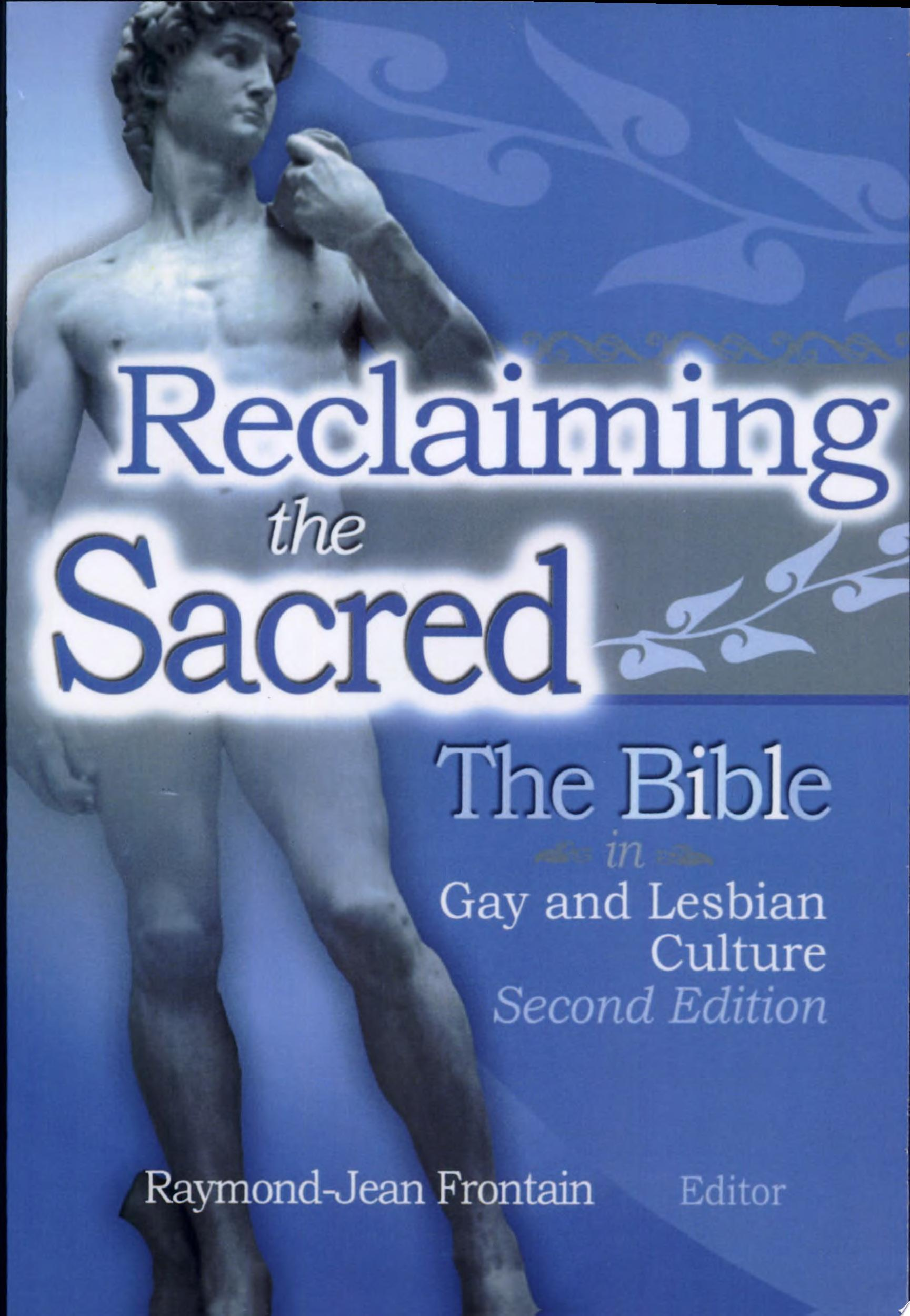 Reclaiming the Sacred