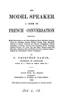 The model speaker  a guide to French conversation