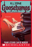 Piano Lessons Can Be Murder (Goosebumps #13) Pdf/ePub eBook