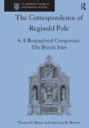 Pdf The Correspondence of Reginald Pole