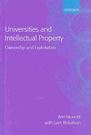 Universities and Intellectual Property