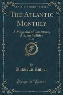 The Atlantic Monthly  Vol  13
