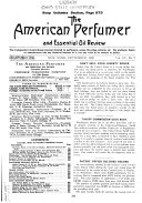 The American Perfumer and Essential Oil Review Book