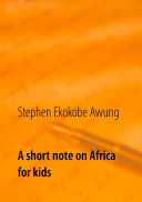 A short note on Africa for kids
