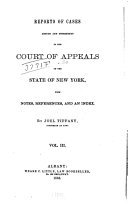 Reports of Cases Decided in the Court of Appeals of the State of New York
