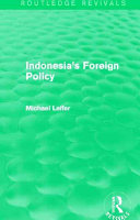 Indonesia S Foreign Policy Routledge Revivals