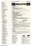 CIM Bulletin Book