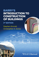 Barry's Introduction to Construction of Buildings Pdf/ePub eBook