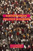 Subterranean Politics in Europe [Pdf/ePub] eBook