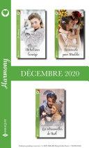 Pack mensuel Harmony : 3 romans (Décembre 2020) Book