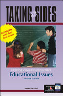 Taking Sides Educational Issues Book