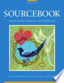 Sourcebook For Sundays Seasons And Weekdays 2009