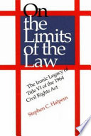 On The Limits Of The Law