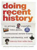 Doing Recent History Pdf/ePub eBook