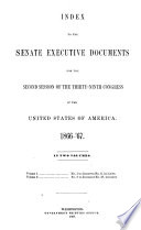Senate Documents  Otherwise Publ  as Public Documents and Executive Documents
