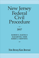 New Jersey Federal Civil Procedure 2017