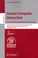 Human Computer Interaction Advanced Interaction  Modalities  and Techniques