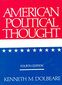 American Political Thought Book