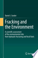 Fracking And The Environment Book PDF