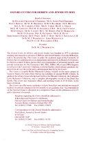 The Journal of Jewish Studies