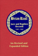 Jazz and Ragtime Records  1897 1942