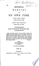 Historical Memoirs of my own Time ... Second edition, etc