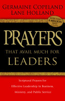 Prayers that Avail Much for Leaders