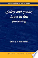 Safety and Quality Issues in Fish Processing Book