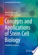 Concepts And Applications Of Stem Cell Biology Book PDF
