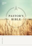 CSB Pastor's Bible [Pdf/ePub] eBook