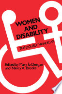 Women and Disability Book