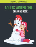 Adults Winter Chill Coloring Book