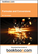 Formulas and Conversions