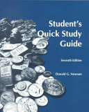 Student's Quick Study Guide for Engineering Economic Analysis