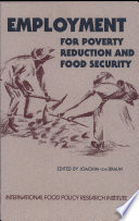 Employment for Poverty Reduction and Food Security Book