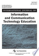International Journal of Information and Communication Technology Education, Vol 8 ISS 2