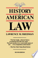 A History of American Law, Revised Edition