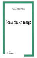 Pdf SOUVENIRS EN MARGE Telecharger