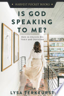 Is God Speaking to Me  Book