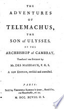 The Adventures Of Telemachus The Son Of Ulysses Translated Into English By Mr Des Maizeaux A New Edition Revised And Corrected