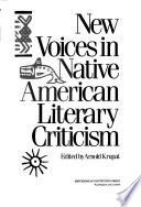 New voices in native American literary criticism